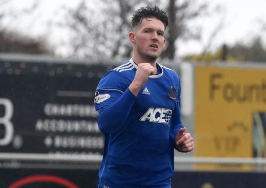 Cove Rangers midfielder Jamie Masson