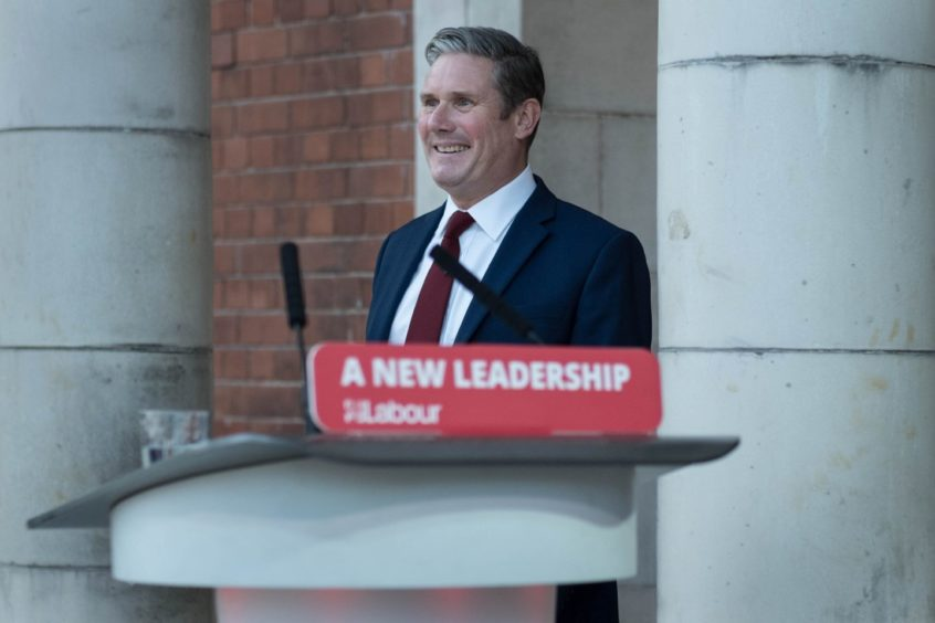 Labour leader Sir Keir Starmer.