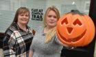 Great Pumpkin Trail organisers Teri Clubb and her sister Beverley Wiseman