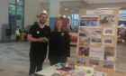 Marion McLaughlin, manager and Calum Bennett, Autism practitioner at the One Stop Shop Aberdeen
