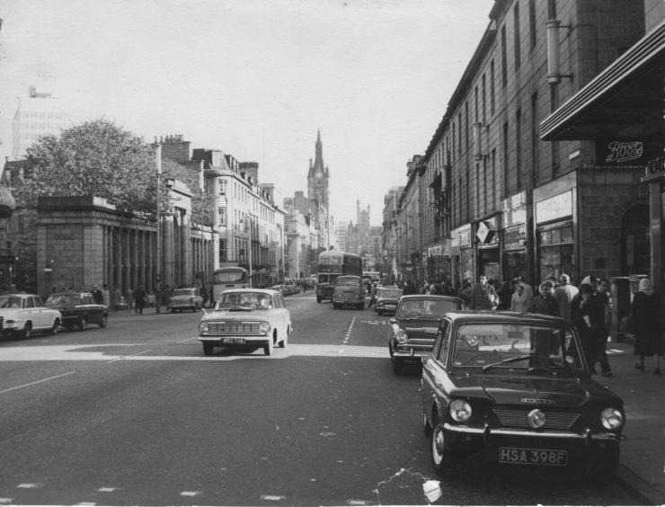 Union Street, looking east - 1967