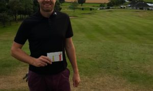 Kintore course record holder Mark Thomson