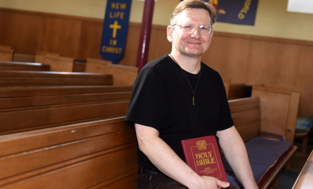 Woodside Parish Church minister Rev Markus Auffermann is leaving after 14 years