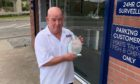 Robert Brown has been given a long service award for his 35 years of employment