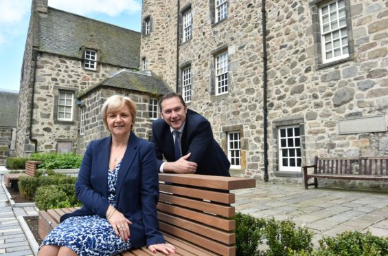 Jenny Laing and Douglas Lumsden say Aberdeen is facing an 'economic tsunami' as a result of Covid-19