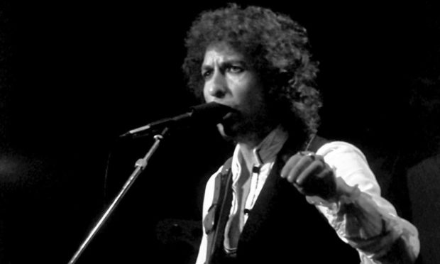 Bob Dylan performed at the AECC in Aberdeen in 2000.