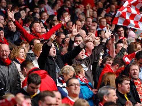 Hampden Park, Glasgow. Scottish Cup Semi-Final 07/08.