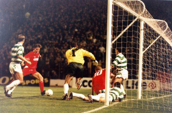 Aberdeen's last winning goal against Celtic at Hampden - 28 years ago.