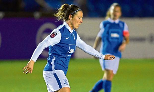 Rachel Corsie of Birmingham City Women.