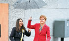Nicola Sturgeon and Margaret Ferrier