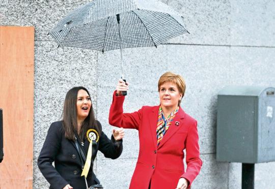 Nicola Sturgeon and Margaret Ferrier