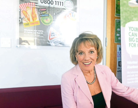 Dame Esther Rantzen, founder of Childline