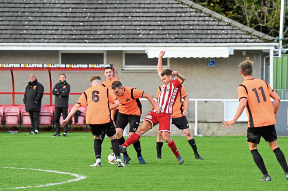 Formartine's game with Lossiemouth at North Lodge Park is the latest to be called off.