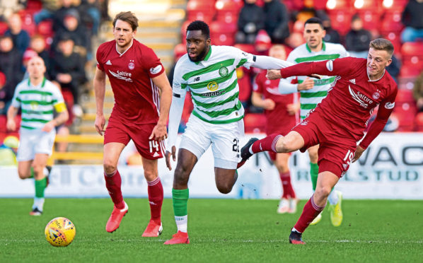 Now could be the perfect time for Aberdeen to attack Celtic.