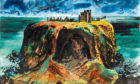 Dunnottar Castle by John Piper