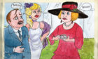 I made a blunder when introducing people at HRH Lizzie's royal garden party at Buck House