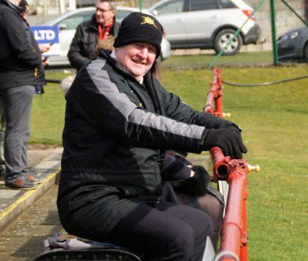 Culter FC has paid tribute to Alex 'Gander' Irvine