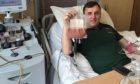 Andrew Dodson is encouraging others to sign up to become blood stem cell donors.