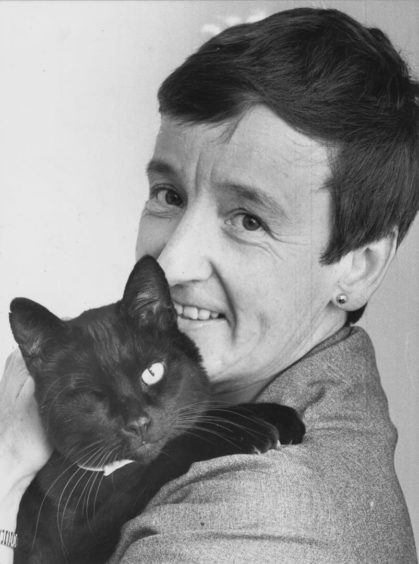 1986: An overjoyed Aberdeen animal lover has been reunited with her ailing moggie - thanks to Evening Express readers. Minush, the one-eyed black cat, went missing last week just hours before an emergency operation and EE readers were put on the alert.