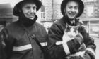 1990: An Aberdeen cat spent a night on the tiles and had to be rescued by firemen at the end of her ordeal. Two-year-old Meggie was stranded on the roof of a four-storey tenement in the city centre yesterday until she was safely brought back to earth. The intrepid feline managed to squeeze through the window of a top-storey George Street flat and was discovered on the roof at around 7 a.m. yesterday. Insp. Bill Simpson, of the Aberdeen Association of Prevention to Cruelty to Animals, said the cat was in no danger. Firemen brigade waited until after rush-hour to stop the traffic and put their hydraulic platform into action. Meggie's owner said: ''I'm not sure how long she was on the roof, but I think she had been out all night. She's never had any adventures like this before and I was a bit worried about her, but I'm sure she will be all right.'' Leading Fireman Scott Douglas said: ''I have had to rescue cats before, but not using the hydraulic platform. It was quite straightforward once I got up there.'' And as Meggie was escorted home by her relived owner last night, Insp. Simpson said: ''She's a bit frightened, but a big drink of milk and seat by the fire and she'll be fine.''  P&J 11/04/1990.