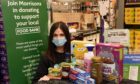 Kerry Brown is a community champion at Morrisons in Banchory.