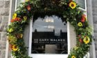 The horseshoe outside of the Gary Walker Wealth Management