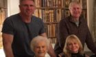 Ivor Ferguson with his family