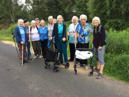 Aberdeenshire Health Walks group