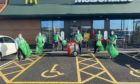 McDonald's Westhill team.