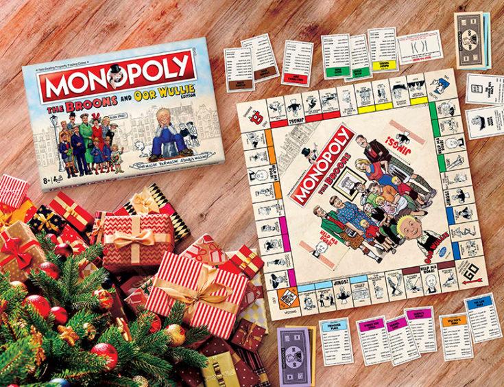 The Broons & Oor Wullie Monopoly Board Game