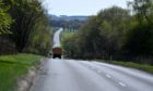 Councillors on the Formartine area committee will discuss a report on the A947, pictured, on Tuesday