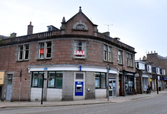 The TSB branch in Banchory