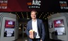 Director Jon S Baird at the opening of the The Arc Cinema Peterhead. Picture by Darrell Benns