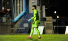 Peterhead goalkeeper Joshua Rae.