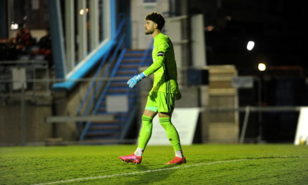 Josh Rae has joined Queen of the South on an emergency loan