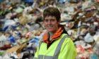 Aberdeenshire Council waste manager Ros Baxter