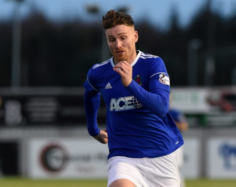 Rory McAllister grabbed a late winner for Cove Rangers.