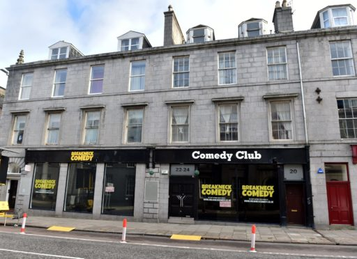 The former Breakneck Comedy Club will be turned back into a restaurant