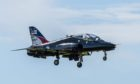The Royal Navy Hawk fast jets will be in Aberdeen for a training exercise