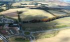 Plans for a controversial link road have been approved by the Scottish Government. Image by Darrell Benns