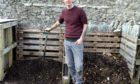 John Sergison has spent lockdown transforming an overgrown piece of land into a community garden