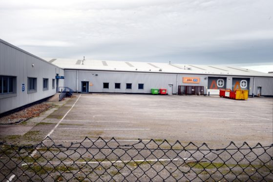 Plans have been lodged for a new hospital in Dyce. Picture: Jim Irvine.
