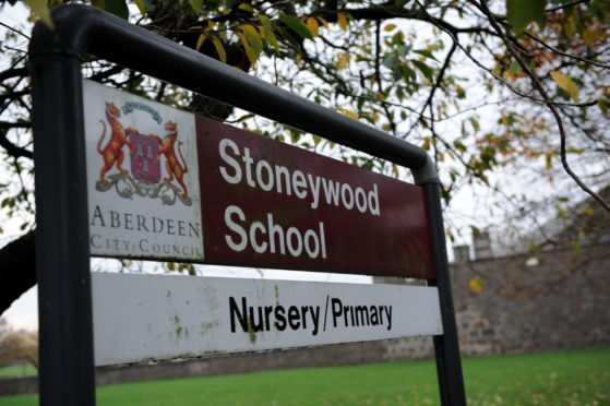The former Stoneywood School is to be demolished