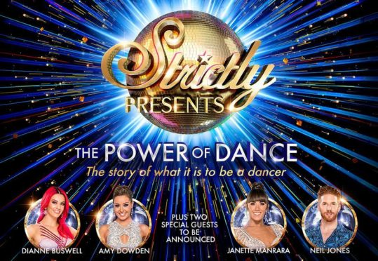 Strictly Presents: The Power of Dance is coming to the Music Hall.