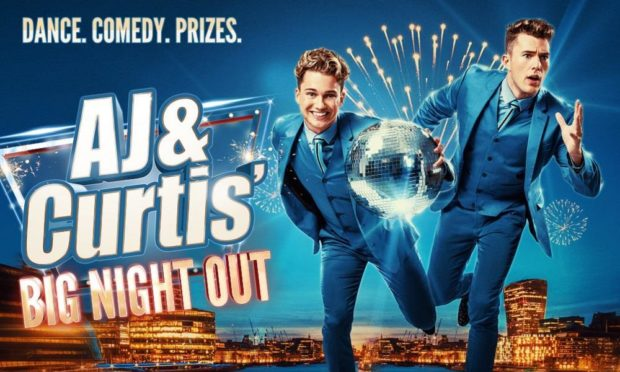 AJ and Curtis Pritchard are heading to Aberdeen's Music Hall.