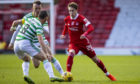 Scott Wright made a big impact off the bench for Aberdeen against Celtic.