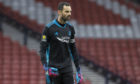 Aberdeen goalkeeper Joe Lewis.