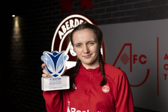 Bayley Hutchison was voted the SWPL player of the month for October.