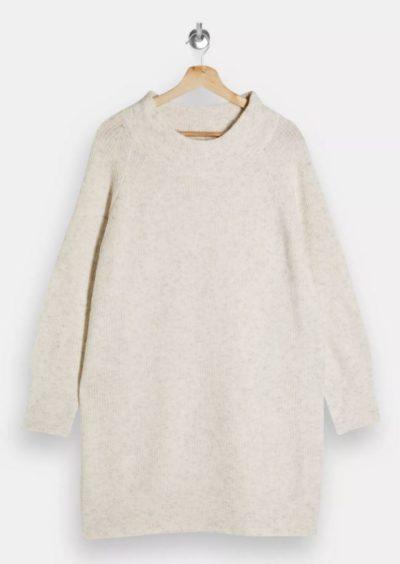 Topshop   Super Soft Oversized Knitted Dress, 39.99