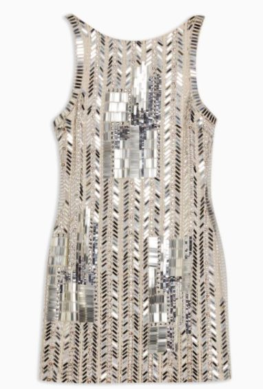 Topshop   Geometric Embellished Mini Dress, £129